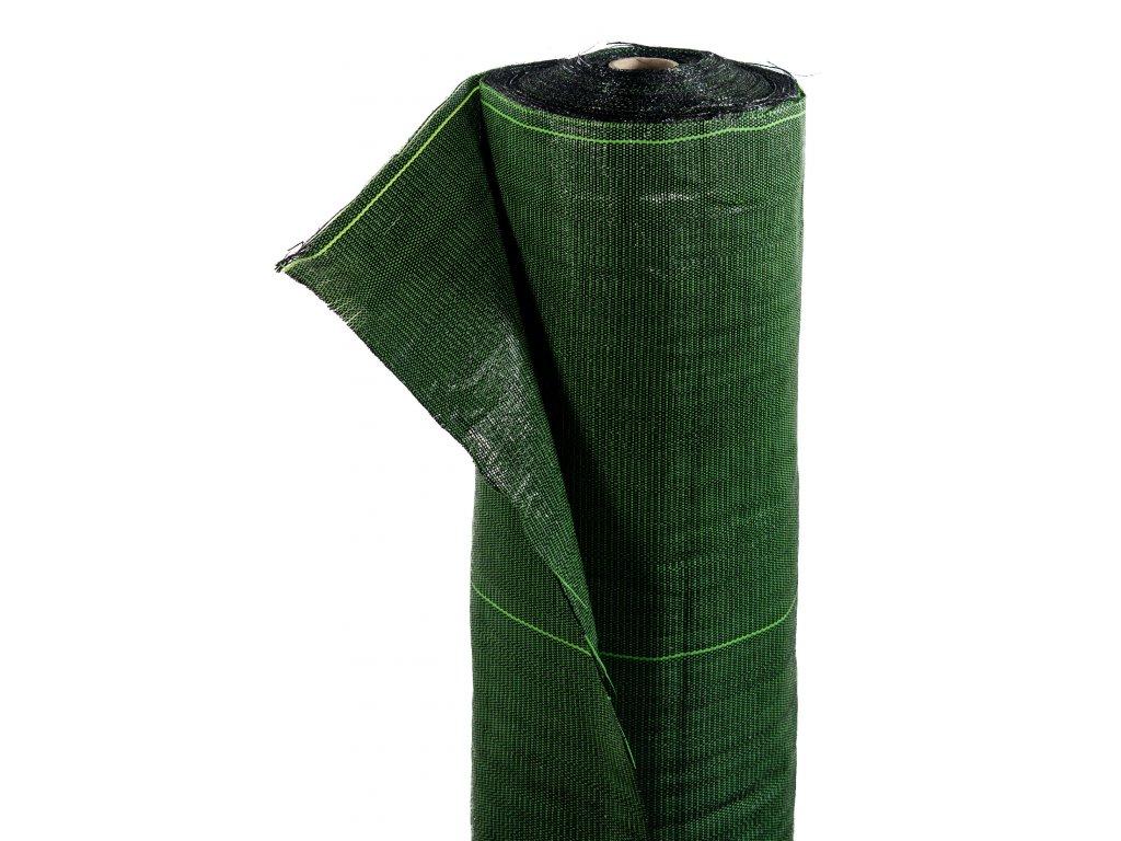Mulčovacia tkaná textília ZELOTEX UV 99 g m2 čiernozelená 1,62 x 100 m