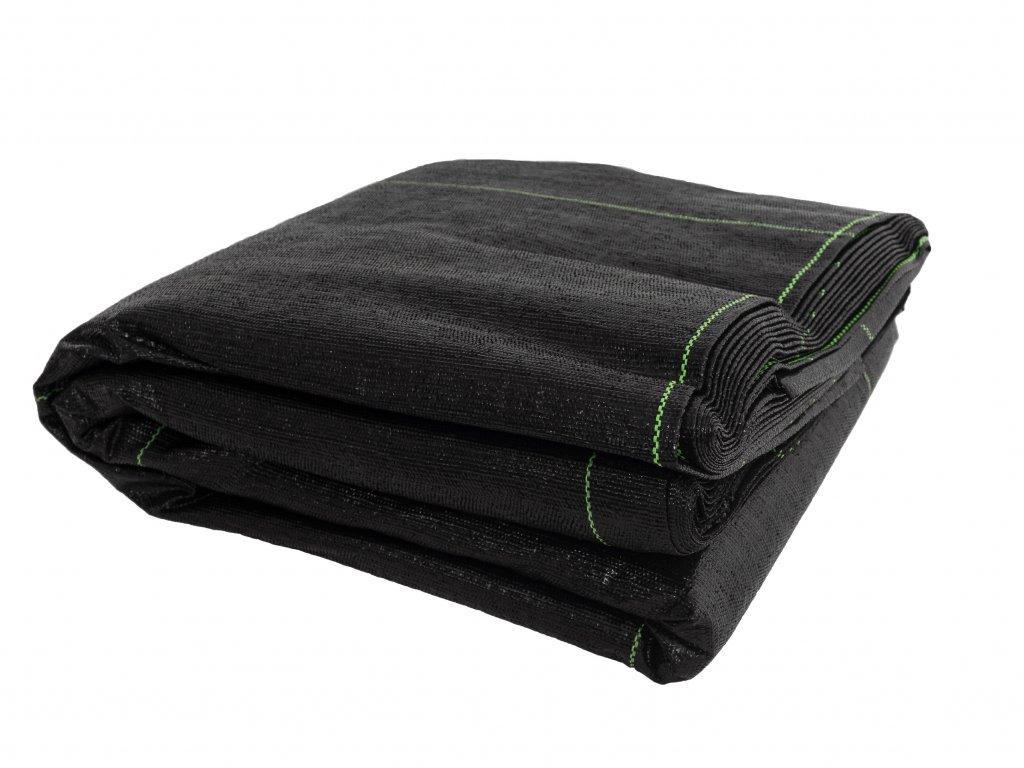Mulčovacia tkaná textília ZELOTEX UV 99 g m2 čierna 3,27 x 10 m