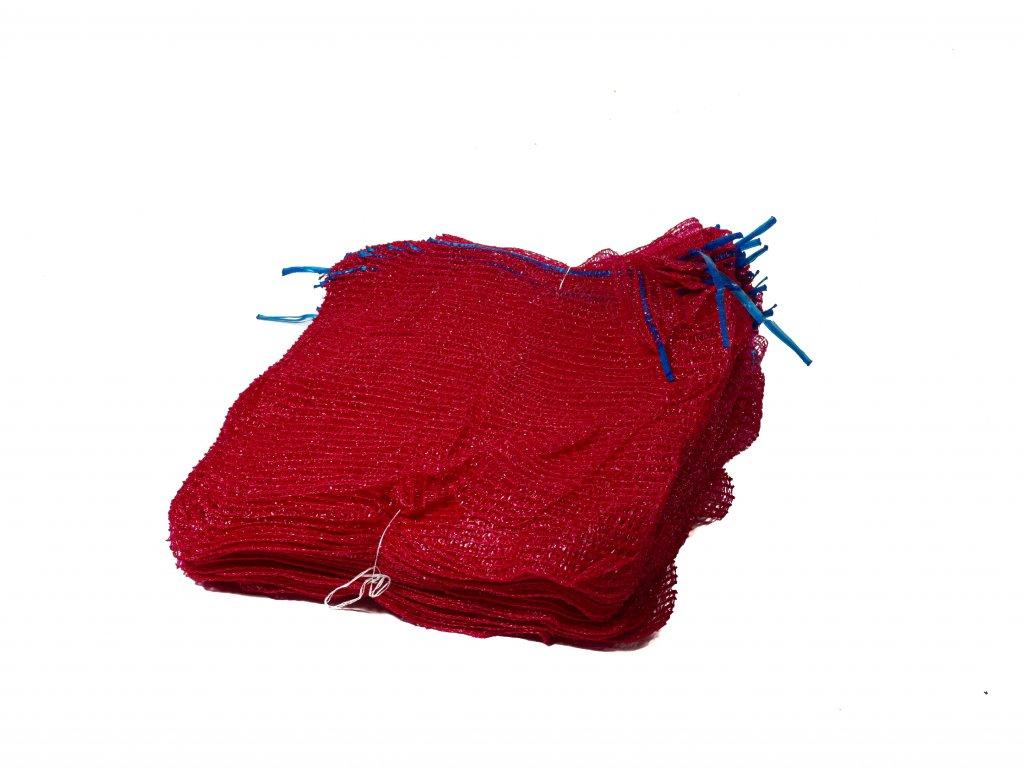 Rašlové vrece PRÉMIUM 5 kg červené 30 x 50 cm