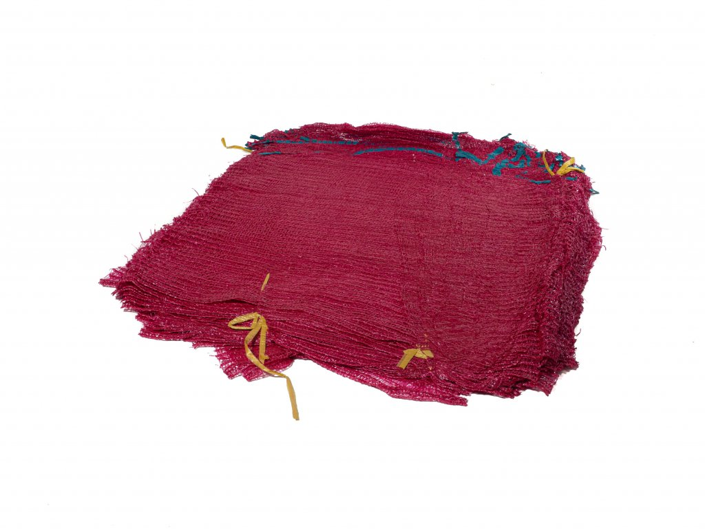 Rašlové vrece ŠTANDARD 15 kg červené 40 x 63 cm