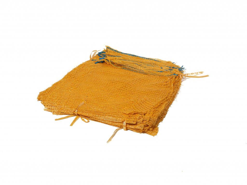 Rašlové vrece ŠTANDARD 5 kg zlatožltá 35 x 50 cm
