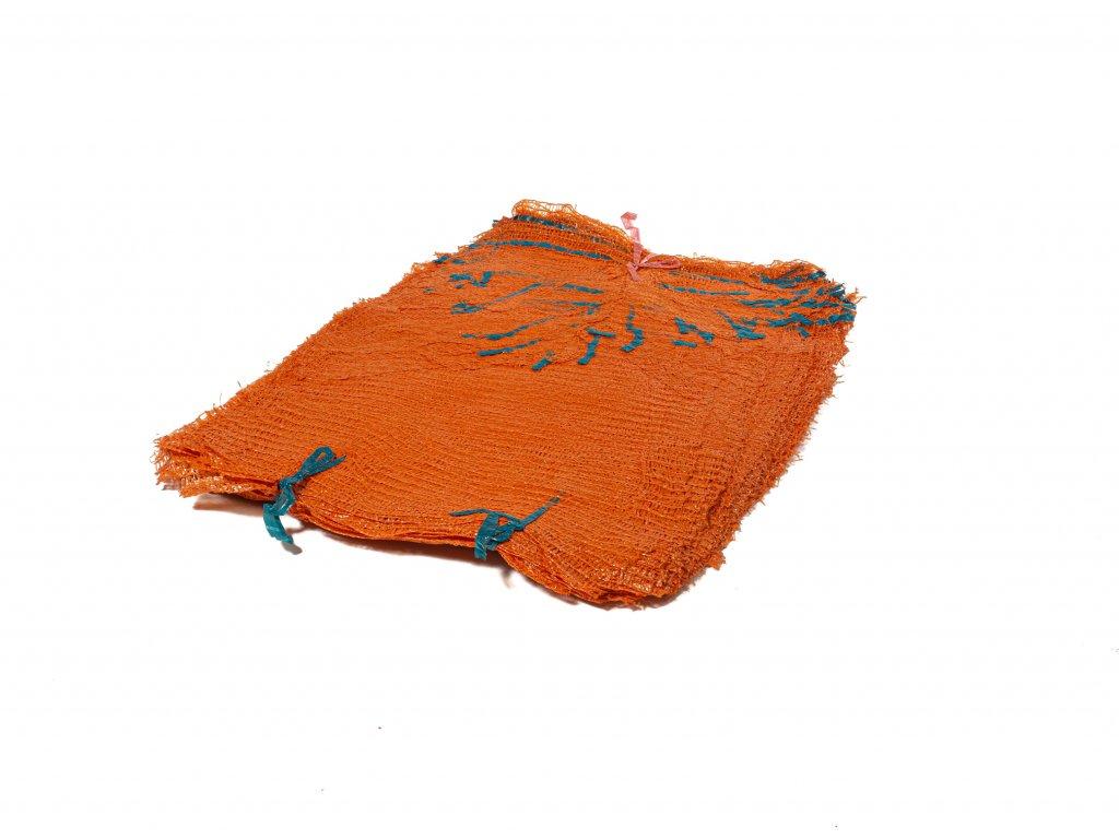 Rašlové vrece ŠTANDARD 5 kg tmavooranžové 35 x 50 cm