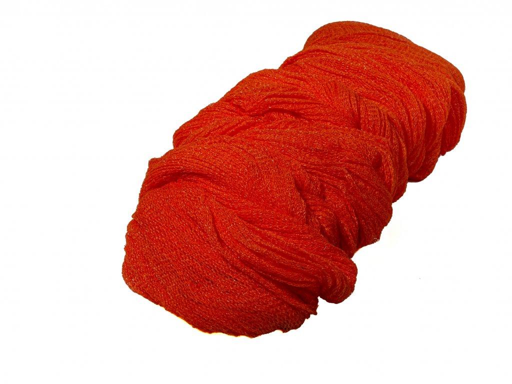 Rašlový rukáv pomarančový ø 30 cm x 100 m