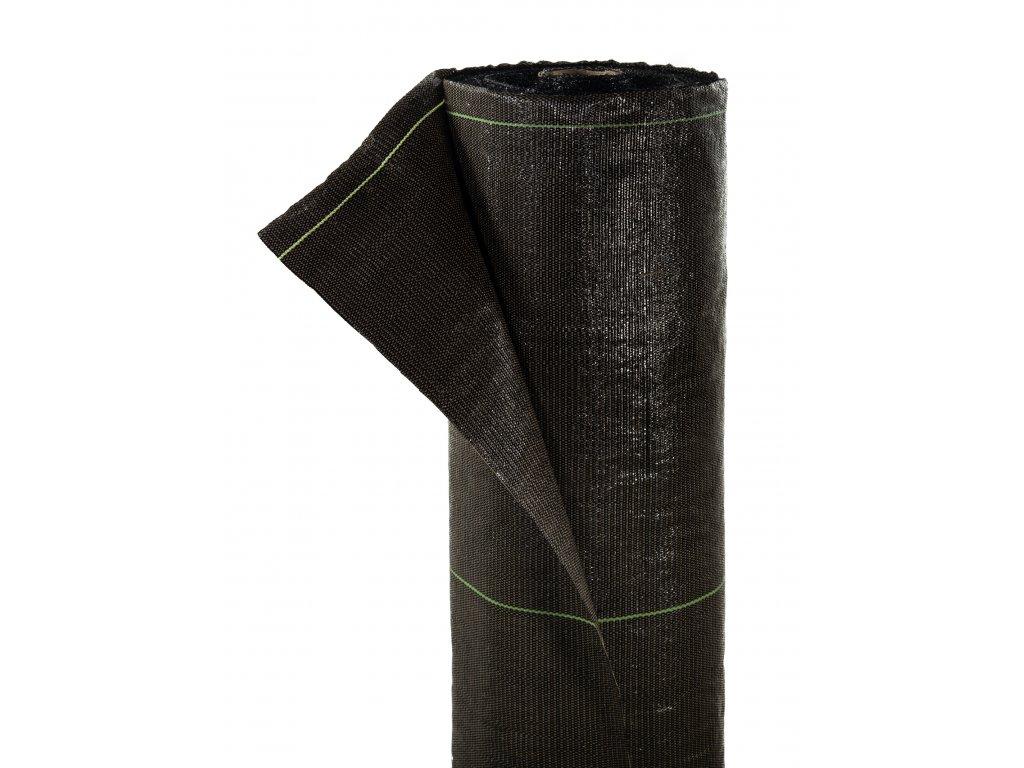 Mulčovacia tkaná textília ZELOTEX UV 99 g m2 čierna 0,8 x 100 m