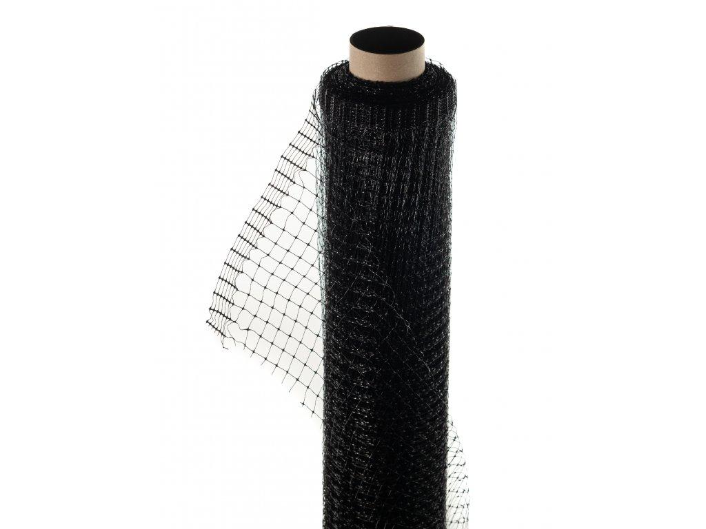 Sieť proti krtom 2 x 100 m čierna