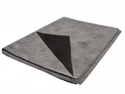 Mulčovacia netkaná textília ZELOTEX UV 68 g m2 čiernobiela 1,6 x 5 m