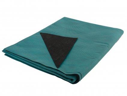 Mulčovacia netkaná textília ZELOTEX UV 68 g m2 čiernozelená 1,6 x 5 m
