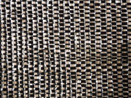 Mulčovacia tkaná textília ZELOTEX UV 99 g m2 čiernohnedá detail