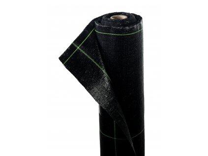 Mulčovacia tkaná textília ZELOTEX UV 99 g m2 čierna 1,62 x 50 m
