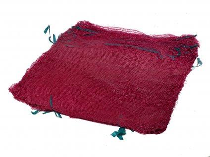 Rašlové vrece ŠTANDARD 25 kg červené 50 x 80 cm