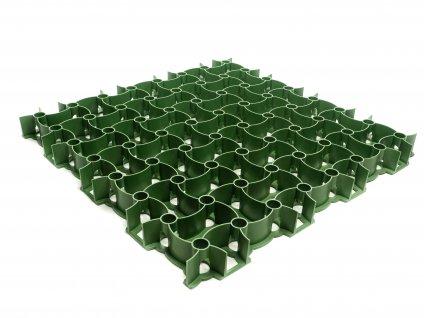 Zatrávňovacia plastová tvárnica 300 t m2 zelená