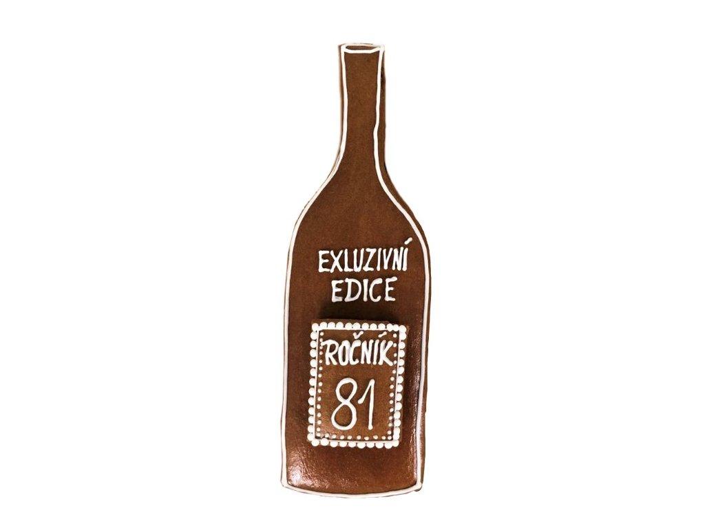 flaska k narozeninam pernik