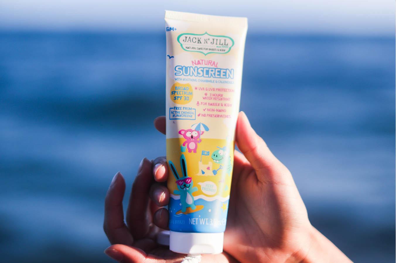Zodpovědná sluneční ochrana pro děti