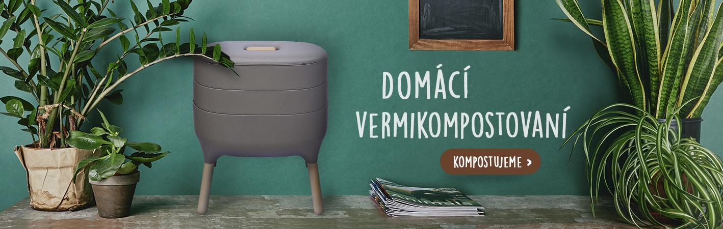 Domácí kompostování ve vermikompostéru Urbalive