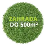 Zahrada do 500 m²