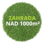 Zahrada nad 1000 m²