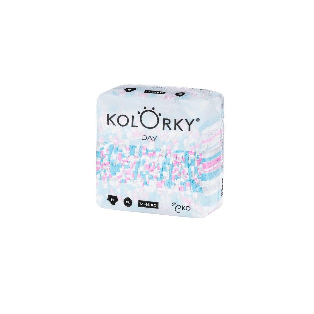Kolorky, Denní plenky XL, 12-16 kg - Pruhy