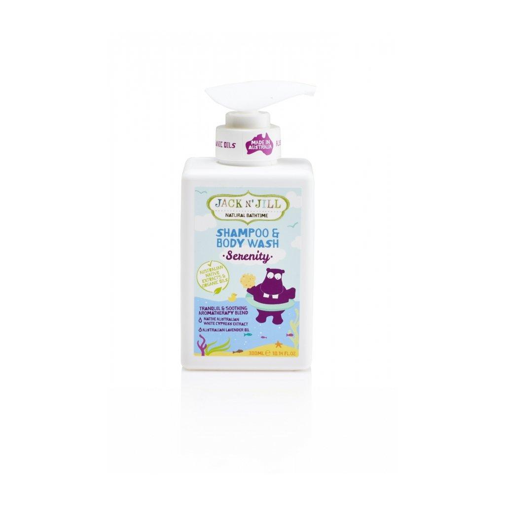 Jack N´ Jill, Sprchový gel a šampón - SERENITY, 300ml