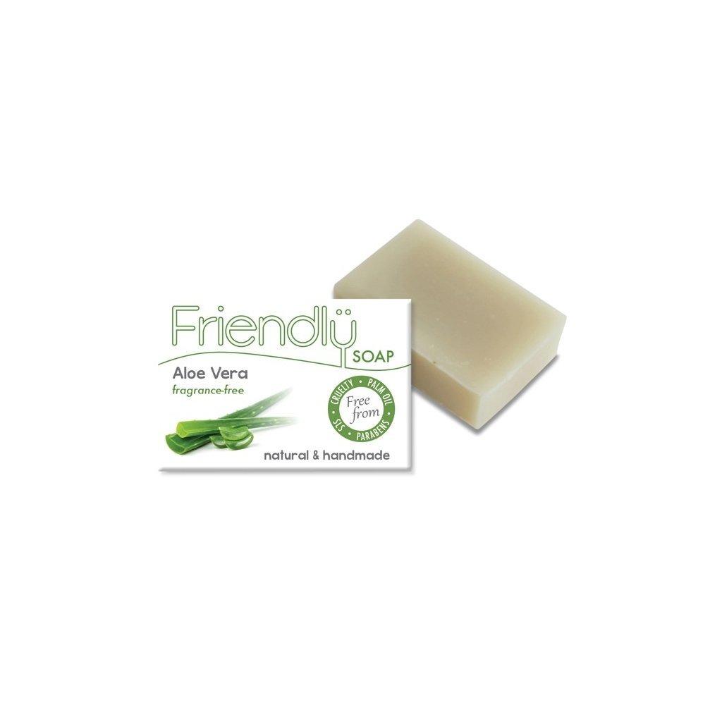 Friendly Soap, Přírodní mýdlo aloe vera 95g