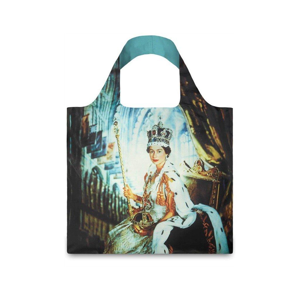 LOQI, Nákupní taška - Museum, Beaton, Queen Elizabeth II