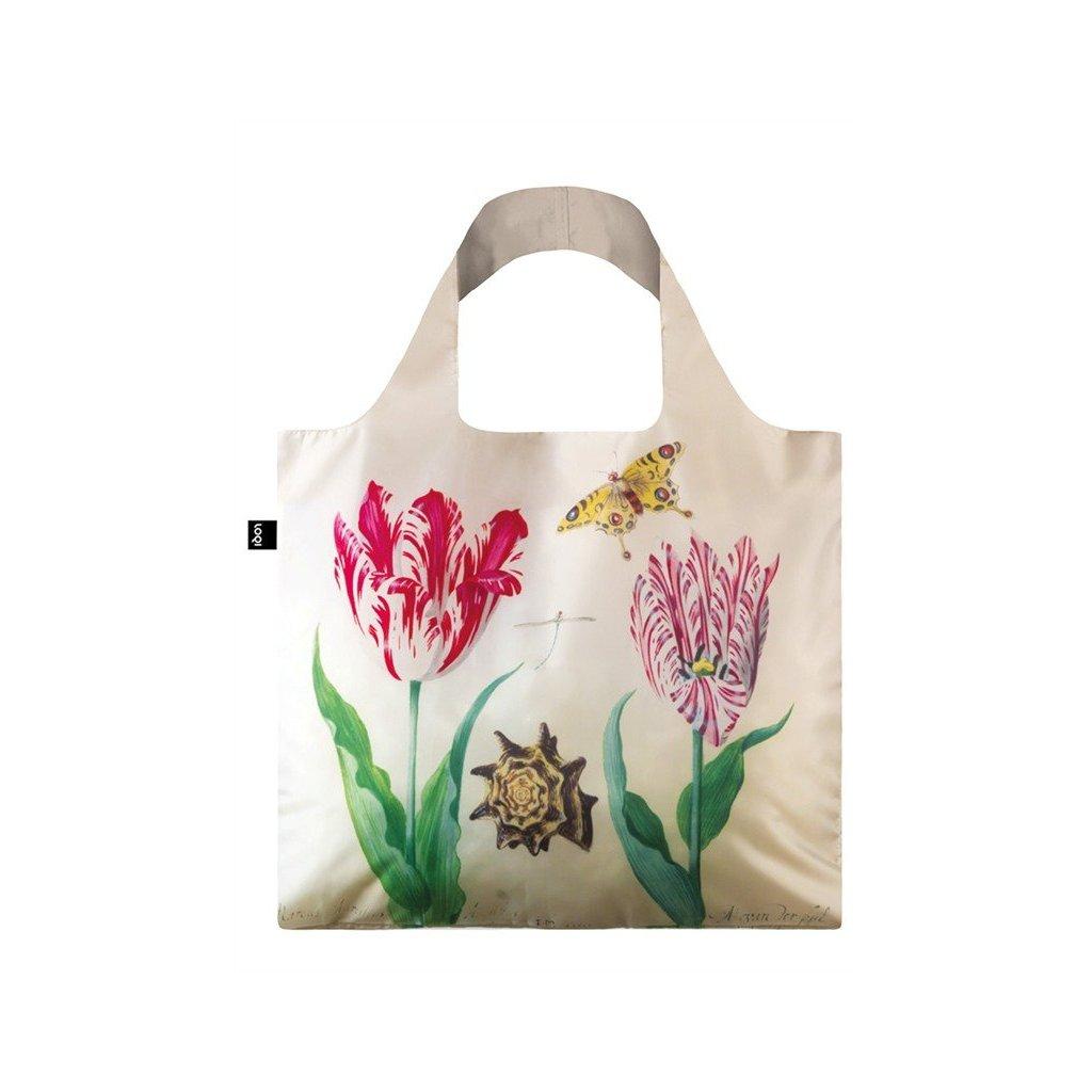 LOQI taška Museum, Marrel - Two Tulips with Irma Boom