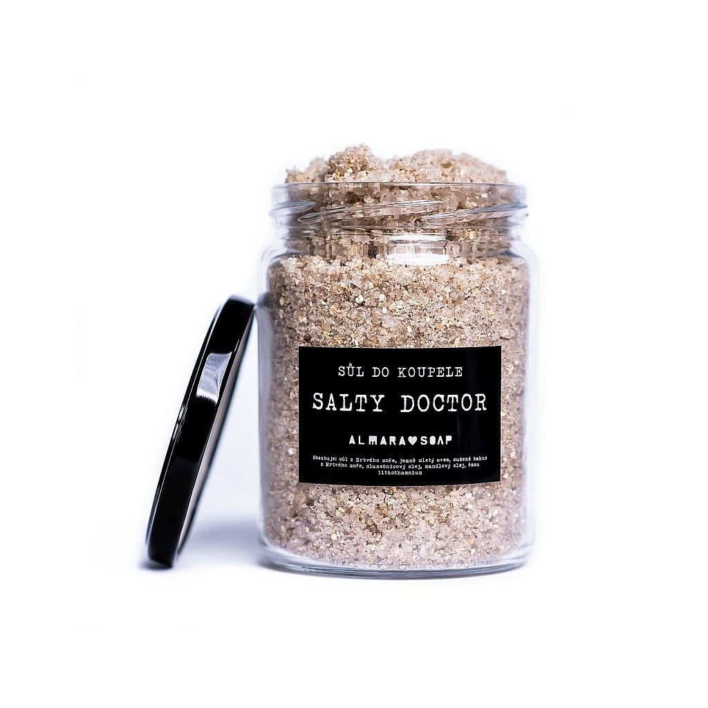 Almara Soap, Sůl do koupele Salty Doctor, 450g