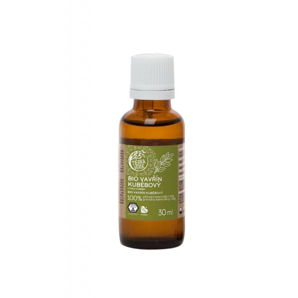 Tierra Verde, Yellow & Blue 100% esenciální olej - Vavřín kubébový, 10ml
