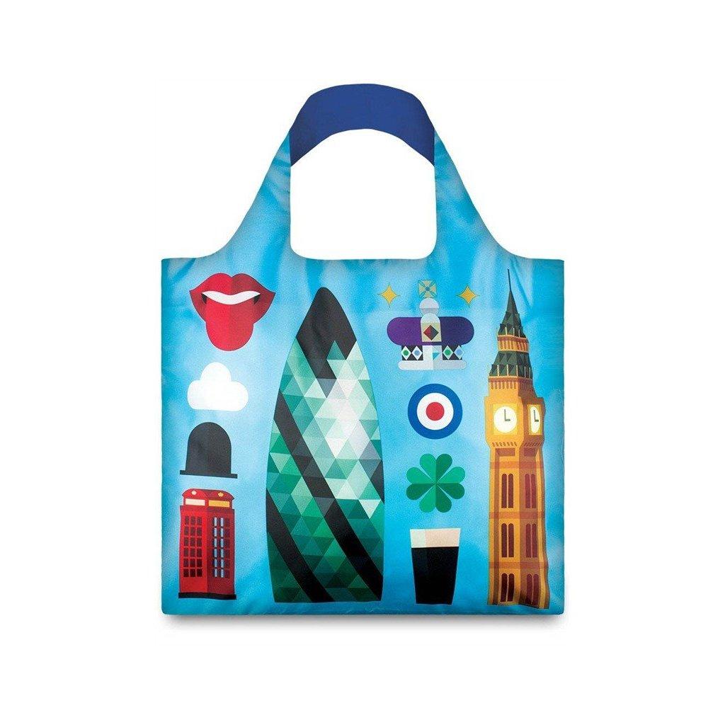 LOQI, Nákupní taška - Hey London