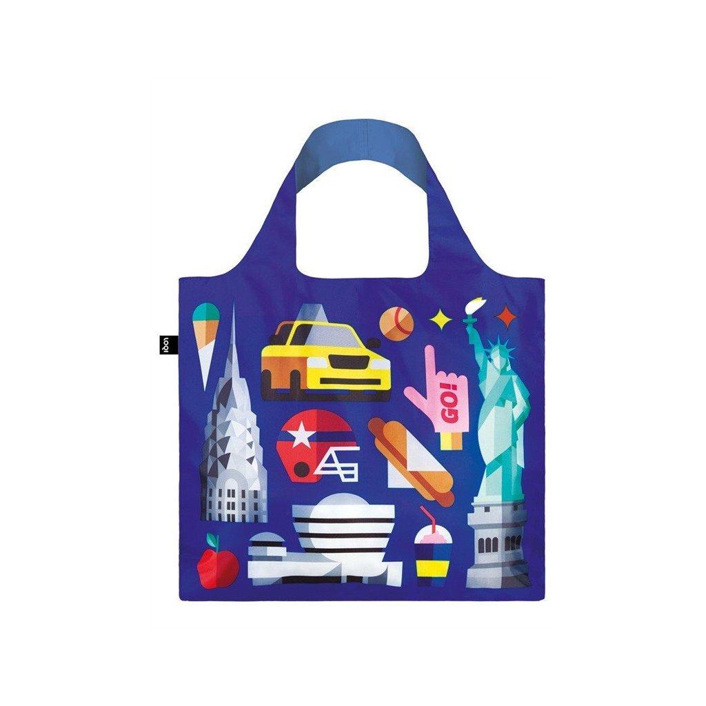 LOQI, Nákupní taška - Hey New York