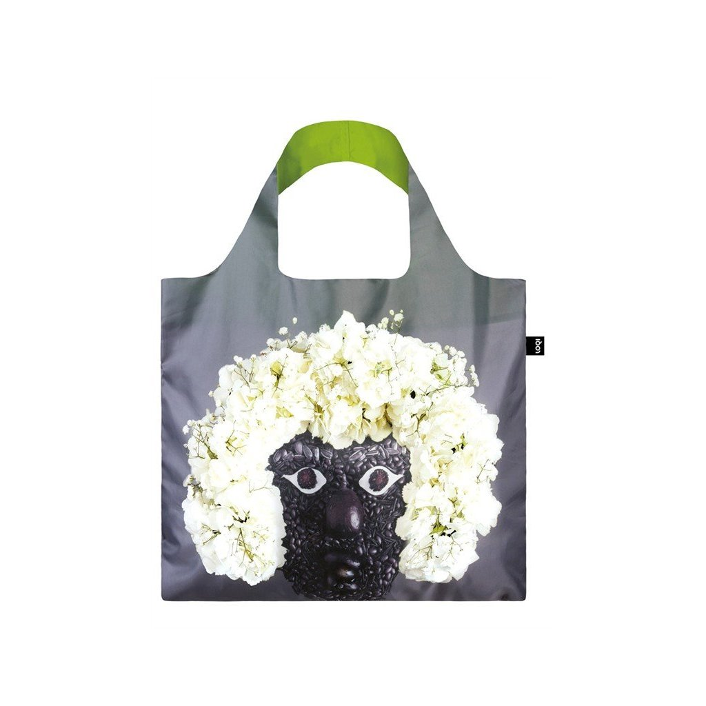 LOQI, Nákupní taška - Fresh Facess, Horace & Lola