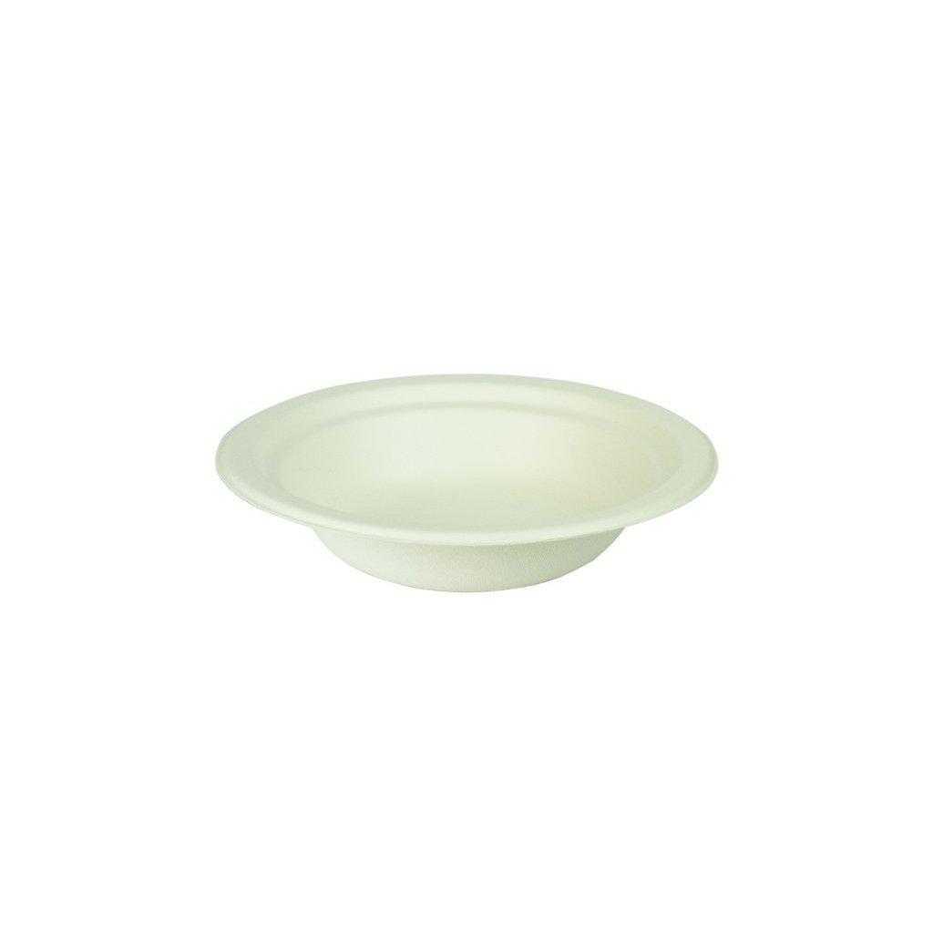2407 vegware kompostovatelny tanier hlboky 350 ml