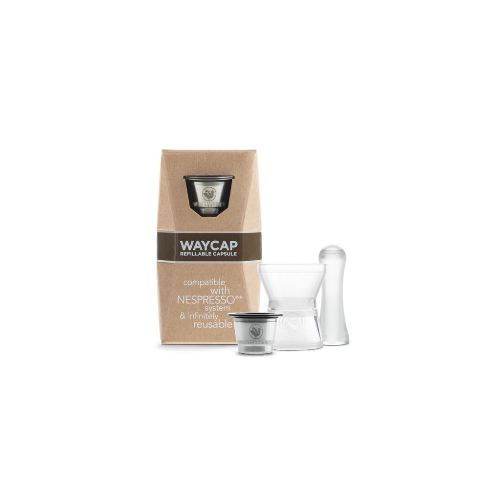 WayCap, Plnitelná nerezová kapsle Nespresso - 1ks