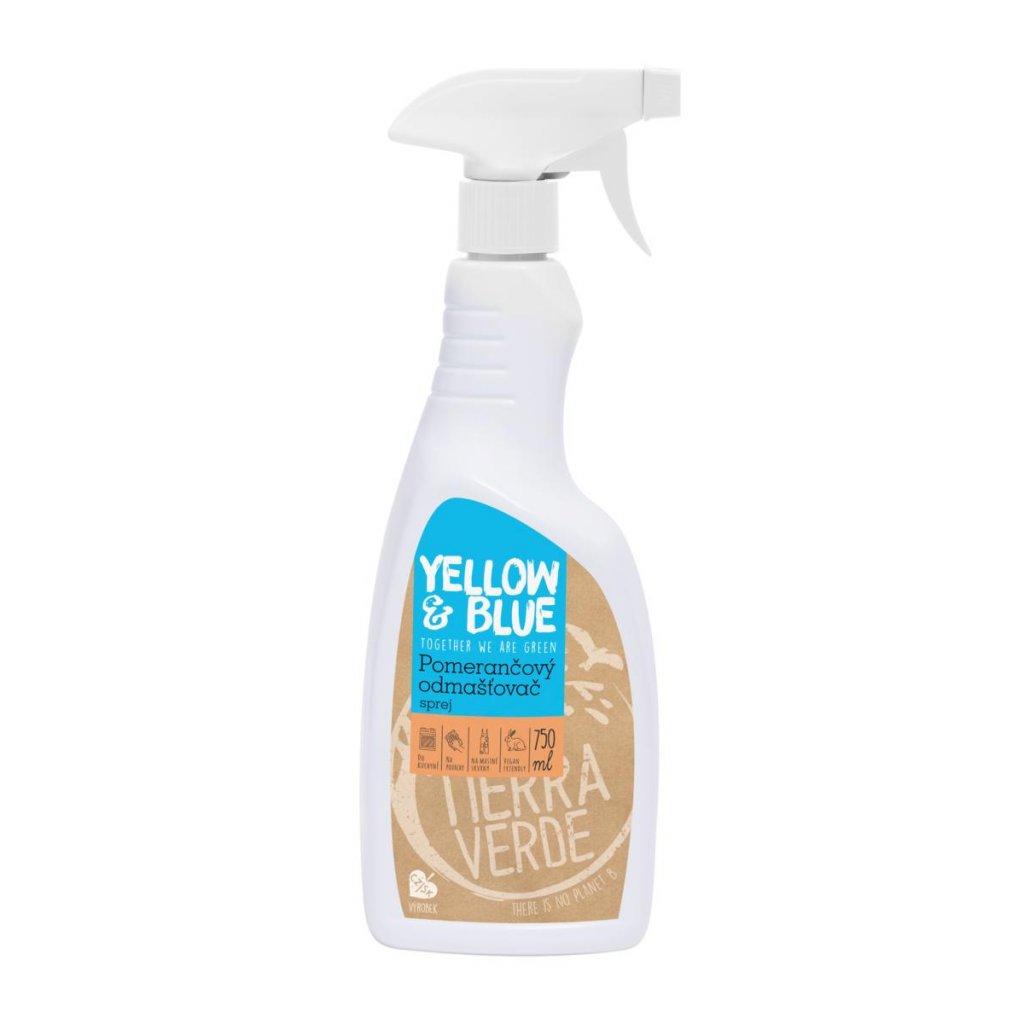 Tierra Verde, Čistič naředěný k okamžitému použití ve spreji - pomeranč, 750ml