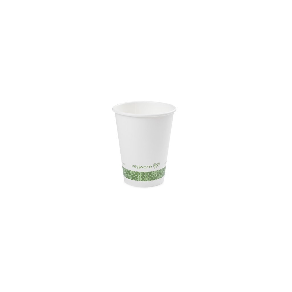 Vegware, Kompostovatelný kelímek na teplé nápoje - 350ml, balení 1000ks
