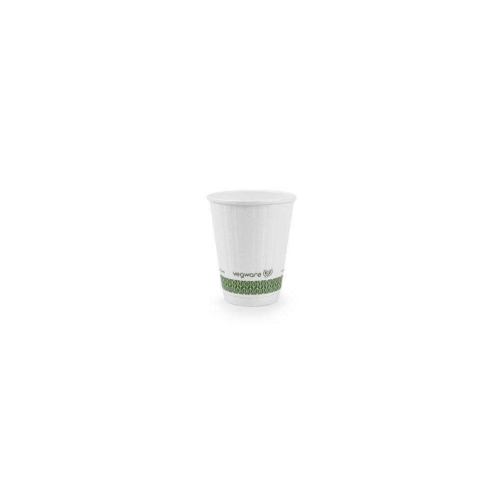 Vegware, Kelímek na teplé nápoje - 220ml, balení 50ks