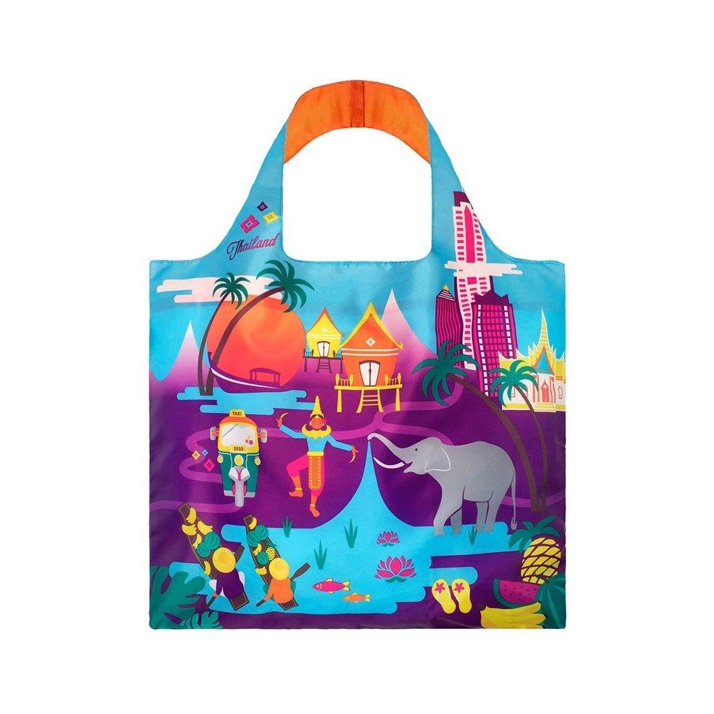 LOQI, Nákupní taška - Urban Thailand
