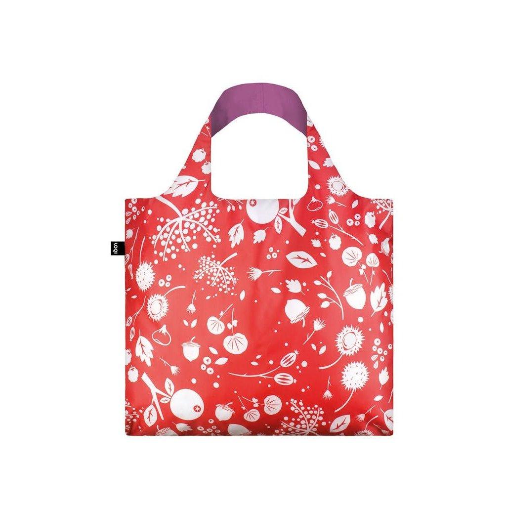 LOQI, Nákupní taška - Seed Coral Bell