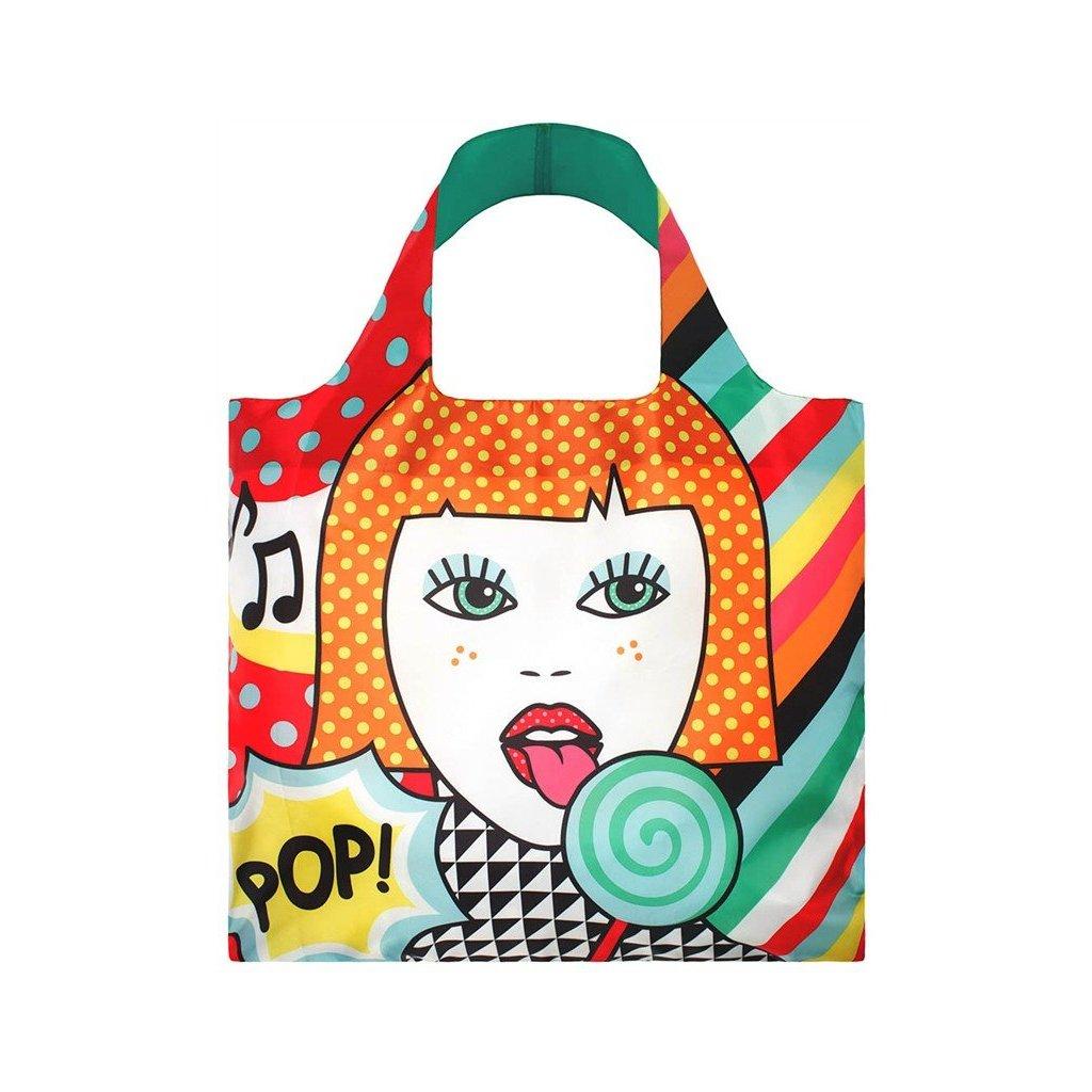 LOQI, Nákupní taška - Pop Lollipop