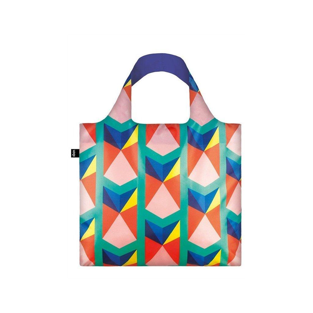 LOQI, Nákupní taška - Geometric Triangles New