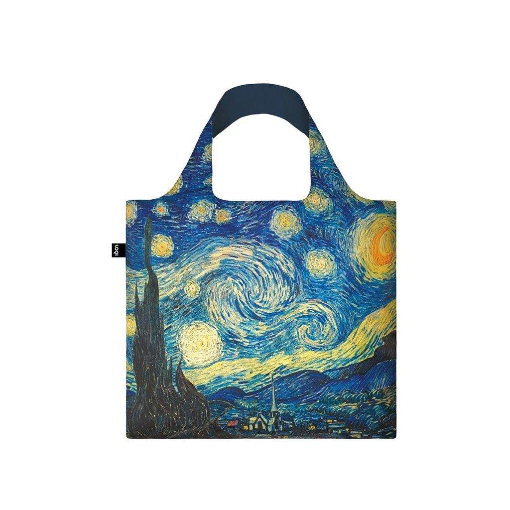 LOQI, Nákupní taška - Vincent van Gogh, The Starry Night