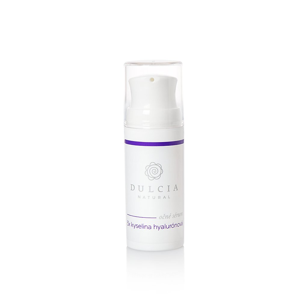 Dulcia, Oční sérum - 3x kyselina hyaluronová 15 ml