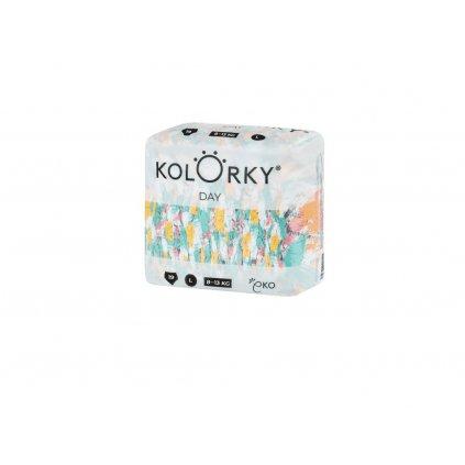 Kolorky, Denní plenky L, 8- 13 kg - Štětec