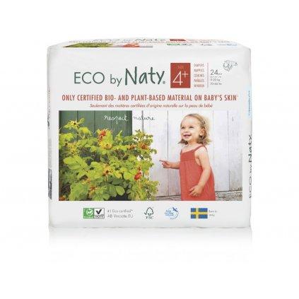 Naty, Plenky MAXI+ 9-20 kg - 24 ks
