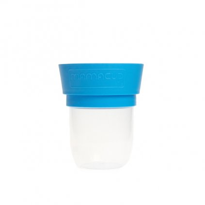 MamaCup, Nádoba na potraviny pro děti - modrá, 400ml