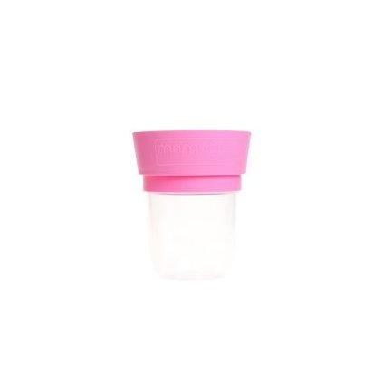MamaCup, Nádoba na potraviny pro děti - růžová, 400ml