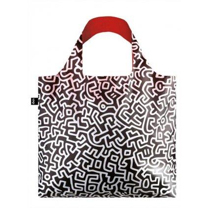 LOQI, Nákupní taška - Haring Unttiled