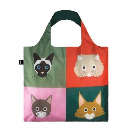 LOQI, Nákupní taška - Stephen Cheetham, Cats