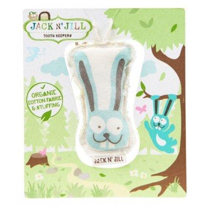 Jack N' Jill, Bavlněná kapsička na vypadnuté zoubky - Zajíc