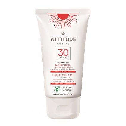 Attitude 30SPF suncream