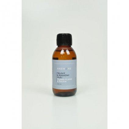 telovy a masazny olej ylang ylang salvia